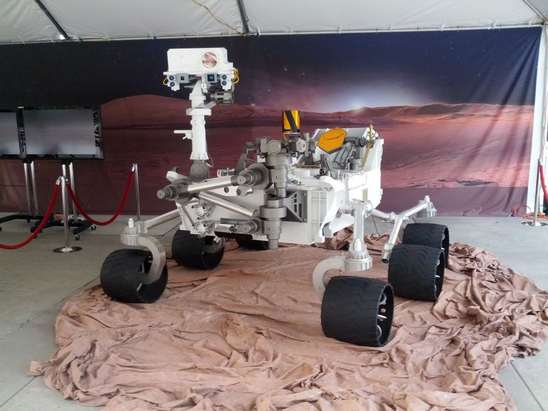 curiosity rover scale model - photo #16