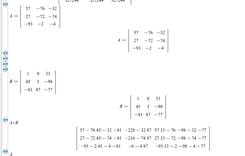 Multiplying Matrices--editing initial - MaplePrimes