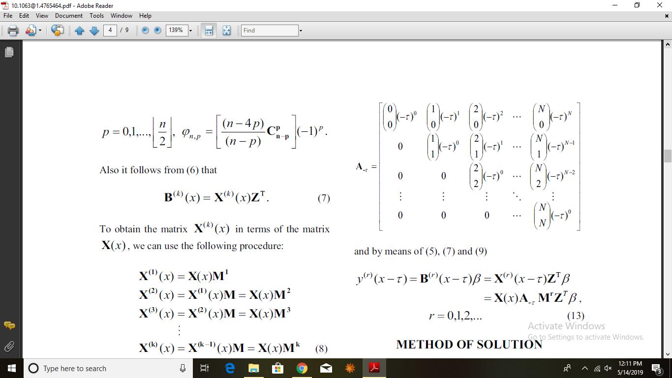 Matrix with help of loop - MaplePrimes